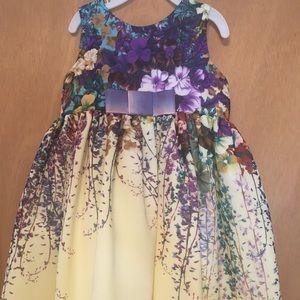 12m floral dress